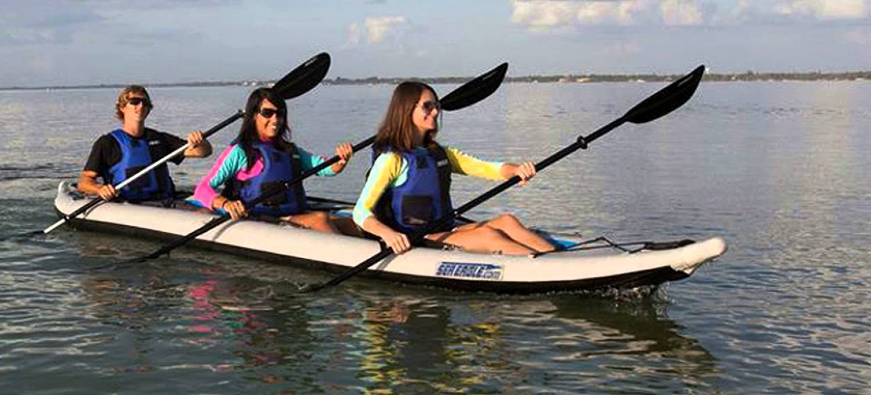 3 Person Inflatable Kayak
