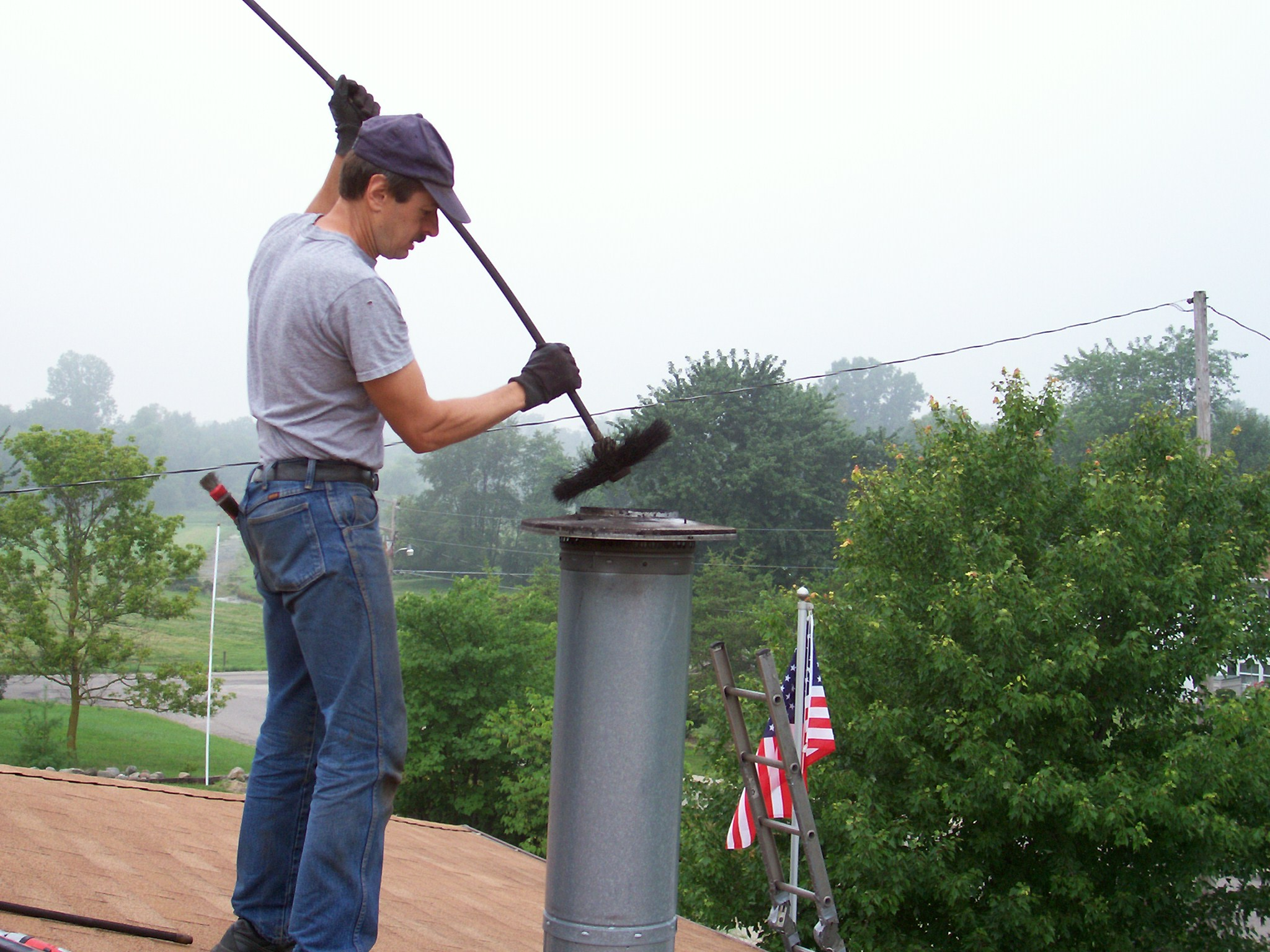Beginners Guide to Chimney Cleaning